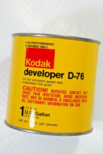 Vintage Sealed Can of Kodak D-76  B & W Film Developer