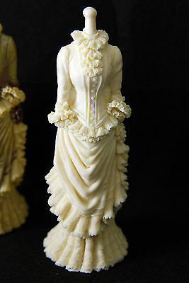 3D Dress, Silicone Mold Chocolate Polymer Clay Jewelry Soap Melting Wax Resin