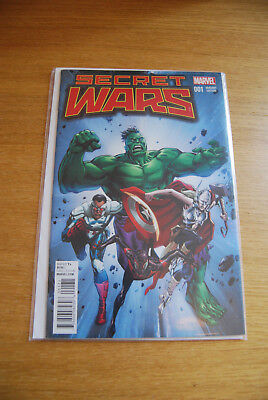 SECRET WARS #1 - 1:25 Guice Classic Variant