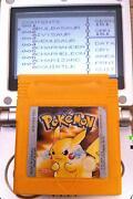 Pokemon Yellow Gameboy
