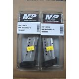 2 NEW SMITH & WESSON M&P SHIELD 9MM 8 ROUND EXTENDED MAGAZINE