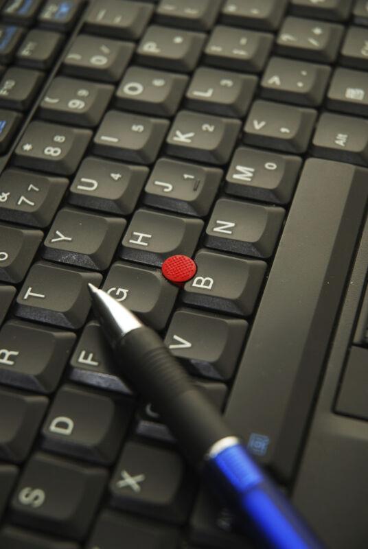 Der rote Trackpoint ist eine Besonderheit der Thinkpads. (Foto: Thinkstock)