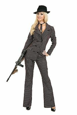 New Gangster Moll Womans Costume by Charades 2137 - Gangster Moll Costumes