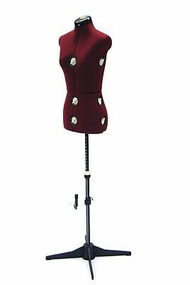 Female Adjustable Sewing Dress Form - Small Size - W Adjustable Stand