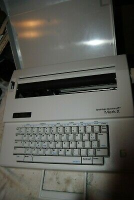Smith Corona Electric Typewriter Spell Right Dictionary Mark X 5a Electronic