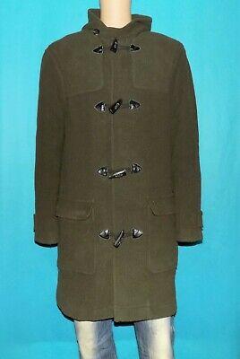 Manteau duffle coat chevignon marly en laine kaki taille xl