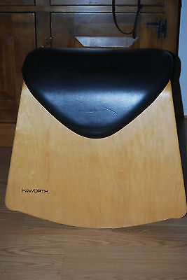 Vintage HAWORTH SHETLAND Rocking Horse stool ERGONOMIC CHAIR formed molded wood for sale  Casa Grande