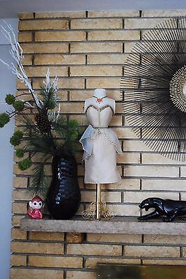 Decorative Mannequin Dress Bust Form - Boudoir Fashion Shabby Chic - 26