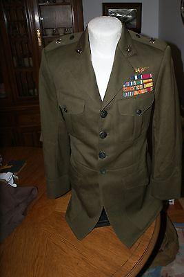 Ww 2 Usmc Generals Alpha Uniform Jacket