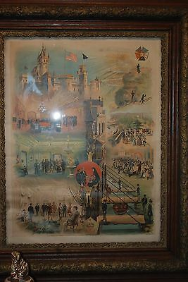 Knight of the Ancient Order of the Mystic Original Framed with Glass 30