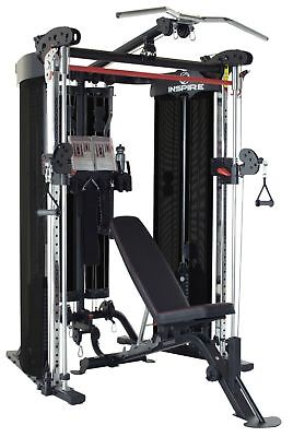 """Inspire Fitness FT2 Functional Trainer Smith Dual Pulley """"Fully Loaded"""" Gym NEW!"""