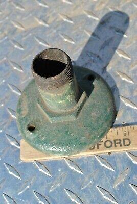 Original Witte Model B Hit Miss Gas Engine Cast Iron Muffler Part