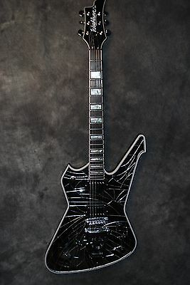 Washburn PS2000 Paul Stanley USA Cracked Mirror Guitar KISS Dealer NEW Case Rare
