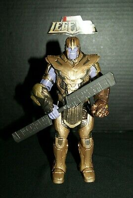 Marvel Legends Armored Thanos BAF Figure Complete - Avengers - Infinity Endgame