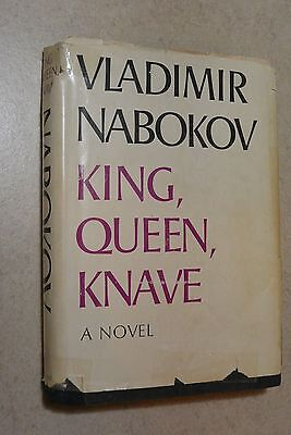 King, Queen, Knave by Nabokov - 1st Edition Book of the Month Hardcover Good