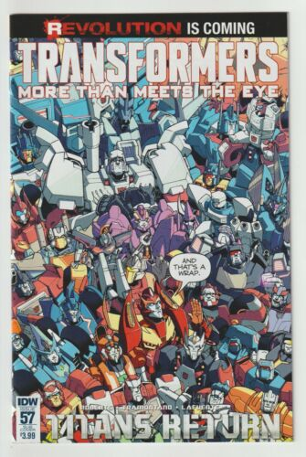Transformers More than Meets the Eye (2016) #57 - Roche Subscription Variant