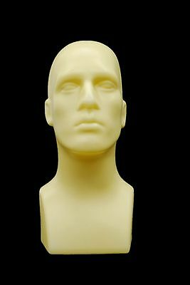 Abstract Male mannequin Head Light weight Style Display Head #PS-M-FT