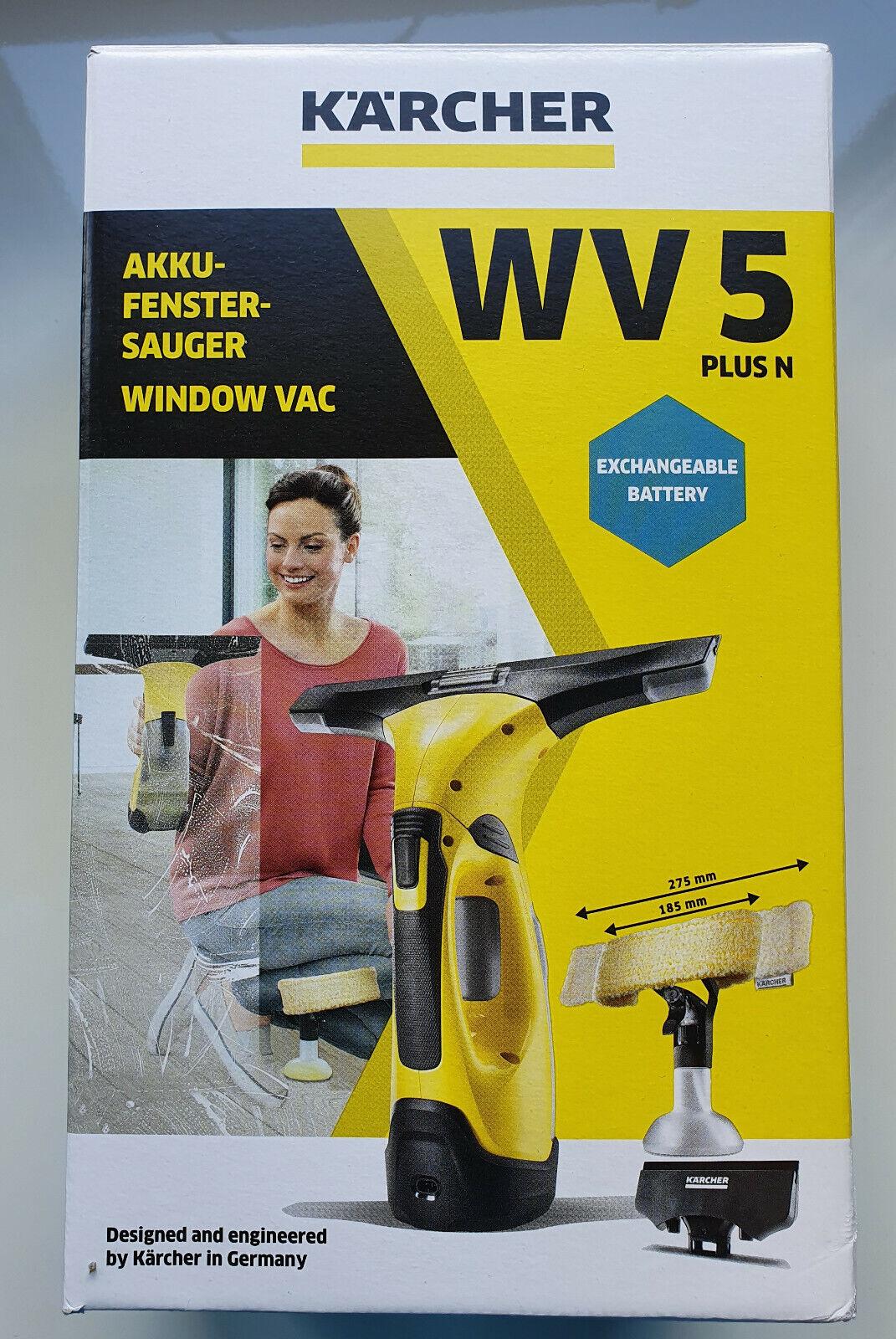 Kärcher Akku Fenstersauger WV 5 Plus N