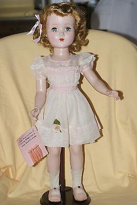 "VERY NICE Vintage 20"" All Original Nanette R&B Walker Hard Plastic Doll"