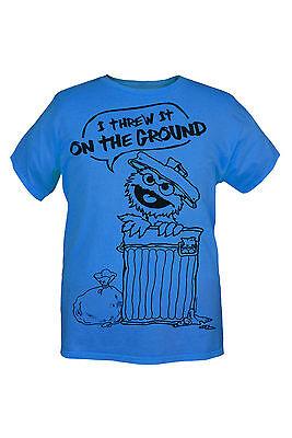 Sesame Street Oscar The Grouch Trash T-Shirt