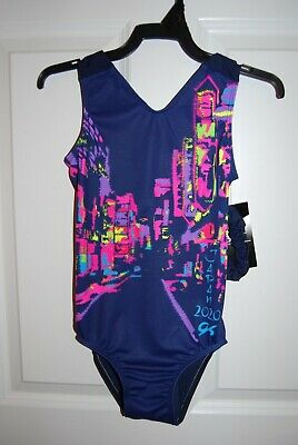 NY COLLECTION Yoga Dance Leotard Bodysuit Skate Gymnastics RED      MSRP $40.00