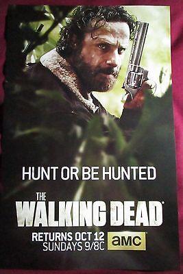 The Walking Dead Season 5 TV Promo Poster Comic Con 2015 Andrew Lincoln Rick ()