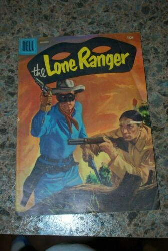 The Lone Ranger Comic Book - Dell Comics #90 - December 1955
