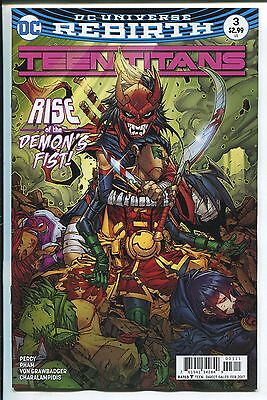 TEEN TITANS #3 - REBIRTH -  JONBOY MEYERS REGULAR COVER - DC COMICS/2016