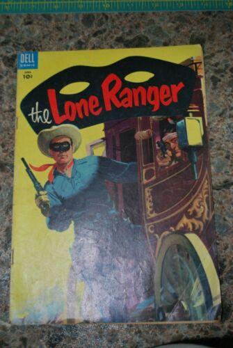 The Lone Ranger Comic Book - Dell Comics #82 - April 1955