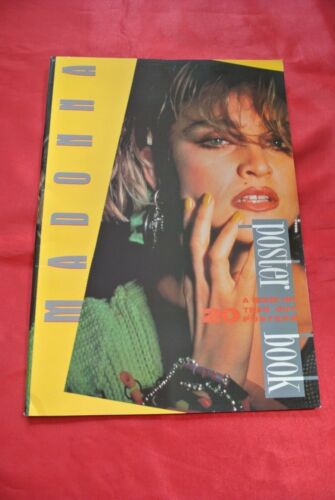 """Madonna Vintage Tear Out Poster Book 17"""" X 12"""" MUST SEE!!!"""