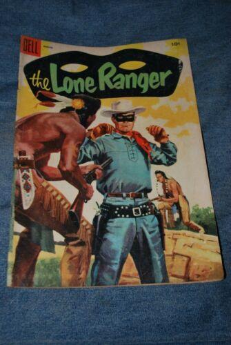 The Lone Ranger Comic Book - Dell Comics #86 - August 1955