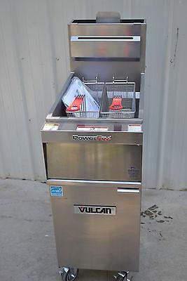 New Vulcan 1tr45a Solid State Natural Gas Fryer 70000btu