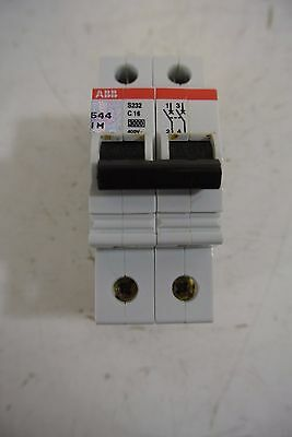 3 pole ABB S803S-C16-2CCS863001R0164 circuit breaker