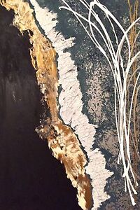 Peinture / toile / cadre abstrait / abstract modern painting