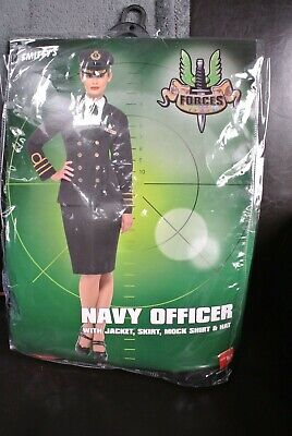 OFFICER Fancy Dress Premium Costume SIZE M 12/14 (Premium Fancy Dress)