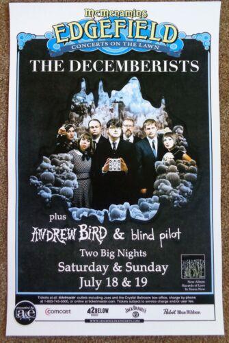 THE DECEMBERISTS 2009 Gig POSTER Portland Oregon Concert