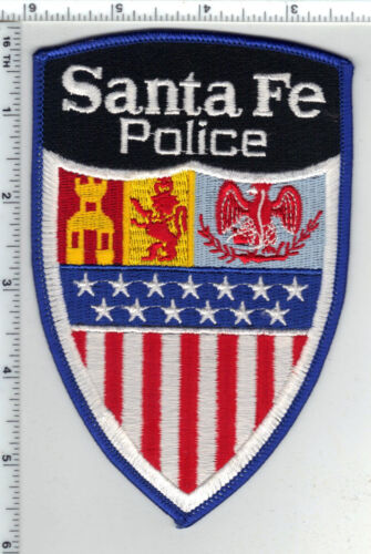 Santa Fe Police (New Mexico) 3rd Issue Shoulder Patch