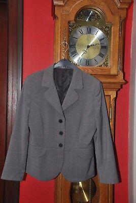 """Veste de tailleur Blazer de marque""""UDC""""gris moyen Taille 40 NEUVE"""