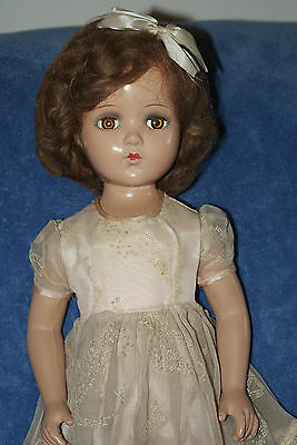 "Vintage 20"" Arranbee Nancy Lee Composition Doll With Extra Clothes"