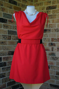 City Chic Dress - Size L 20 - TUNIC COWL NECK SIREN - New with tags - WAS $89.95