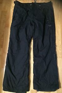 Men's black ski pants - XL Mansfield Brisbane South East Preview