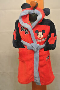 EX DISNEY STORE MINNIE MICKEY JAKE BUZZ AND CARS FLEECE DRESSING GOWN PYJAMAS