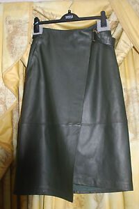 marks and spencer leather skirt ebay