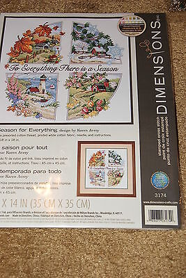 Cross Stitch Kit: A Season For Everything - Dimensions