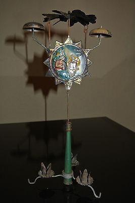 Altes Glockengeläut Blech Pyramide Weihnachten Glocken Geläut Krippe (252)