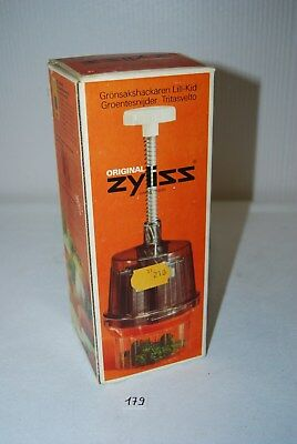 C178 Ancien ustensile de cuisine - Original Zyliss - 210frs - boite origine