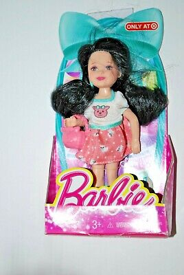 2013 Barbie Sister Kelly Chelsea Easter Sheep Dress & Accessory Black Hair Doll