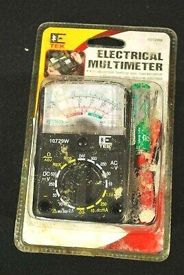 E Tek Electrical Multimeter Electrical Tester Nib