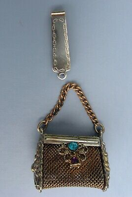 Key Chain And Beaded Boodmark 4 Indian Souvenir Trinkets Leather Change Pouches
