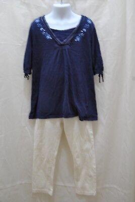 Kids Clothing Girls' Shirt size sp 7/8  Faded Glory Total Girl Leggings RN 21225 (Total Girl Clothing)